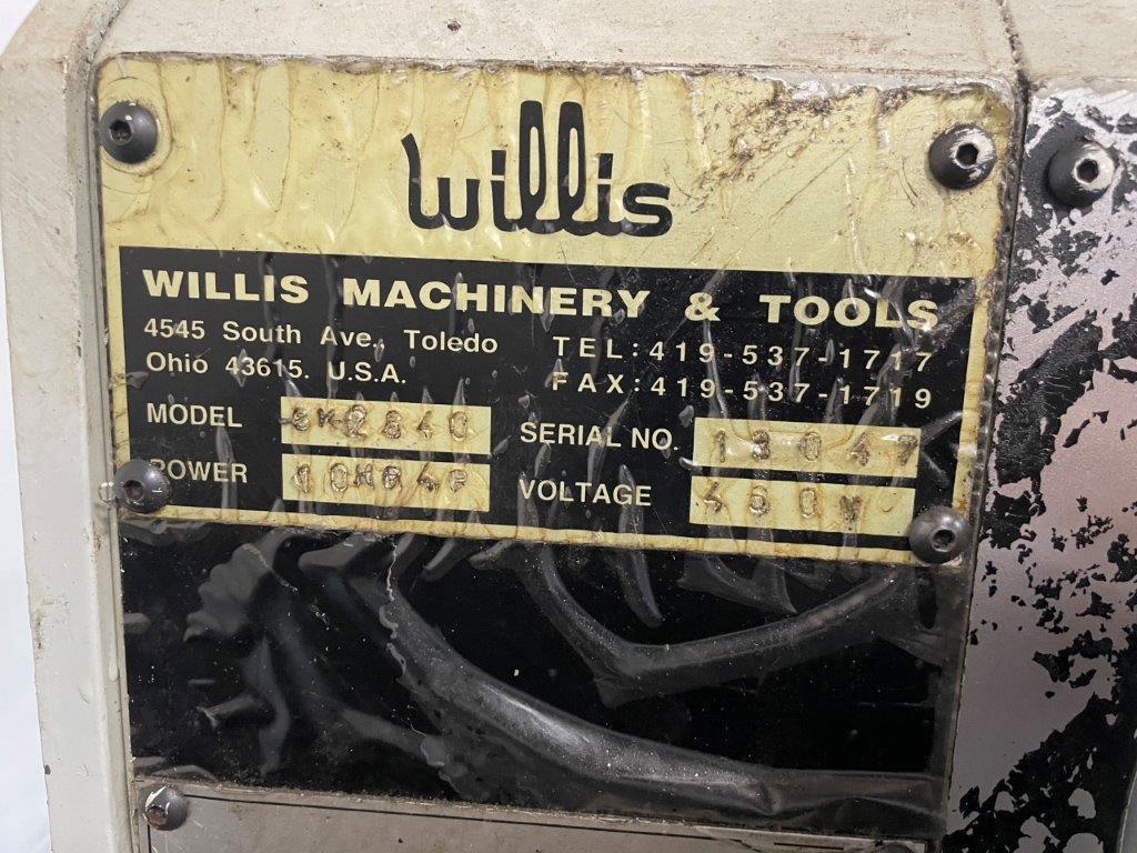 """USED, 26"""" X 40"""" WILLIS MODEL SK-2640 ENGINE LATHE"""