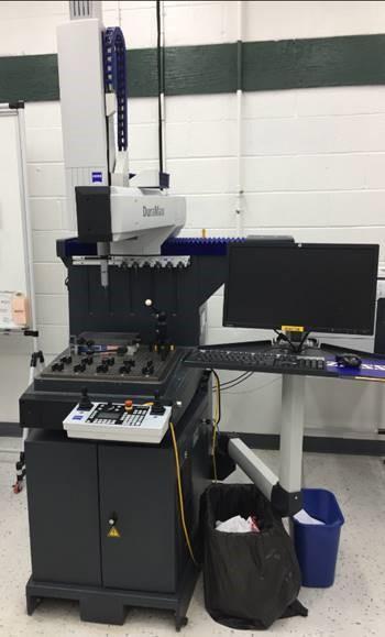 ZEISSZeiss Duramax 5/5/5 CMM, Vast XXT scanning probe head