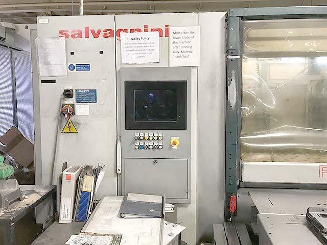 "SALVAGNINI PERFORMER P2 CNC PANEL BENDER, 80"" x 60"" Sheet Size, .5mm - 2mm Sheet Thickness, Multi-Dimensional CNC, New 2008."