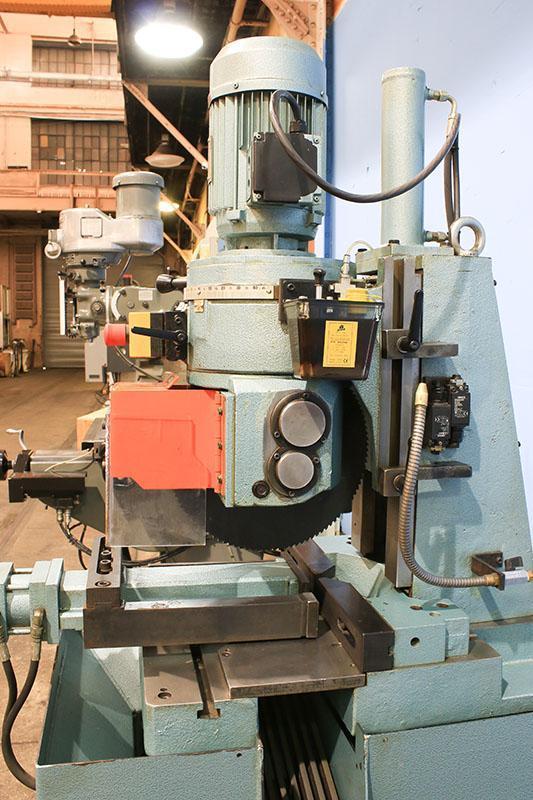 14'' Max. Blade Dia. Scotchman Model CLM350/LT COLD SAW, Semi-Automatic, Hydraulic Vise & Head