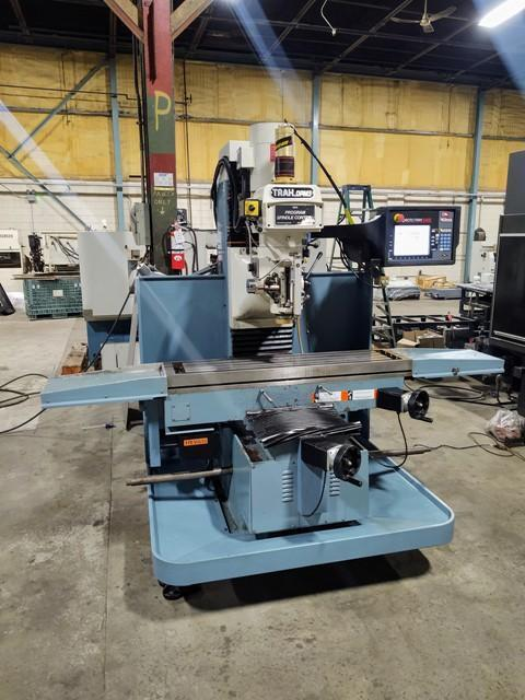 Southwestern Industries DPM SX5P CNC Bed Mill (2014)             Programmable Spindle