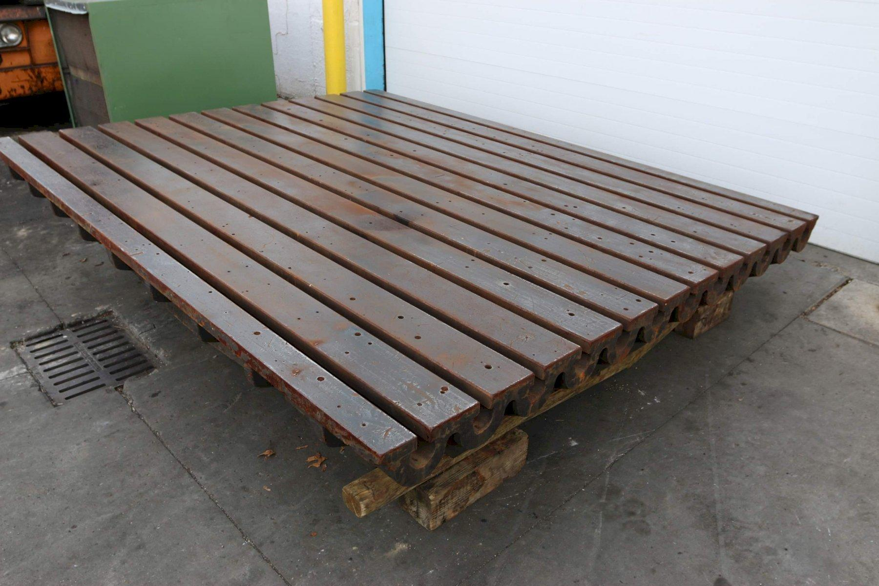 8' X 10' X  22' T SLOTTED PLATE: STOCK #68652