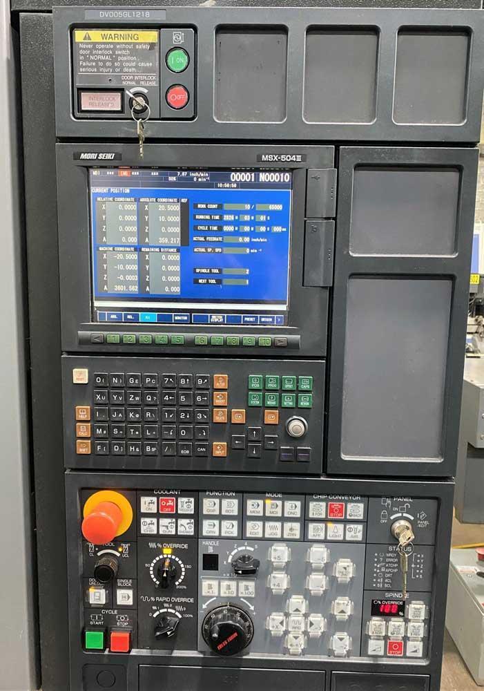 Mori Seiki DuraVertical 5100 4-Axis Vertical Machining Center