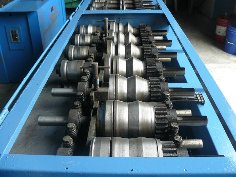 20 Ga. Lockformer Adjustable Bar Cleat Rollformer Triplex Model 14