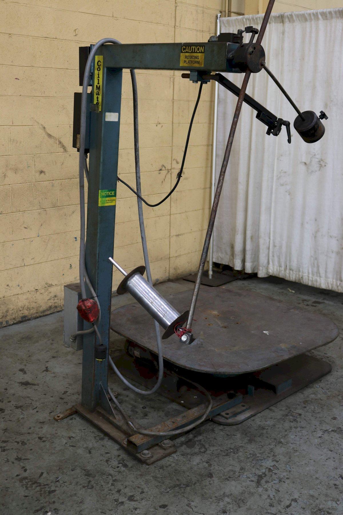 "5000 LB  x 48"" coilmate Pallet Type Uncoiler"