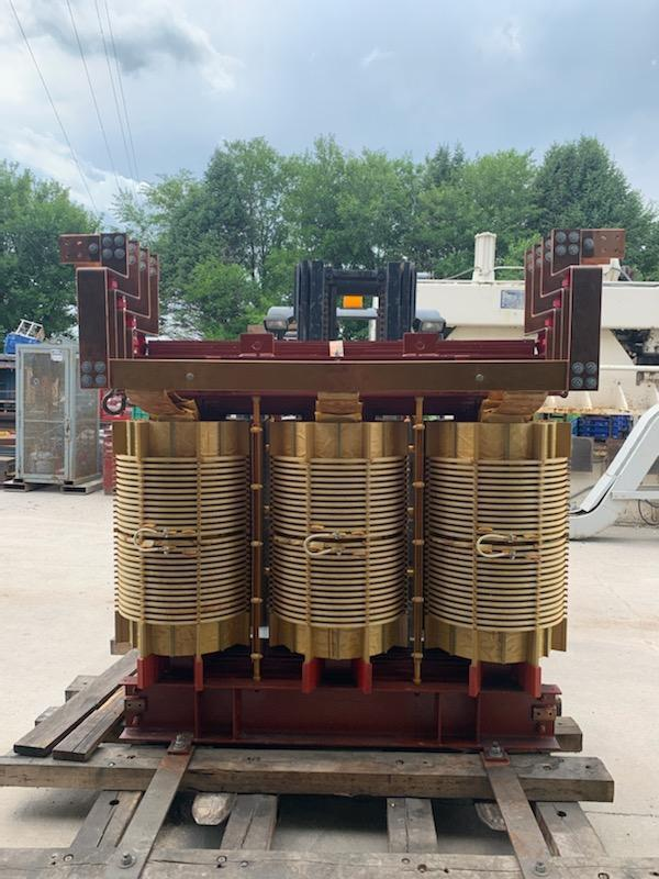 1 - PREOWNED DRY TYPE TRANSFORMER, S/N: 65590