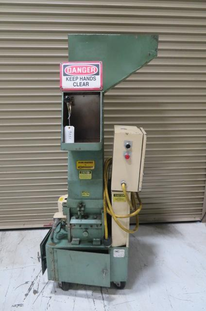 "IMS Used LP-86 Granulator; Hand 8.75"" x 12.125"", Robot 10"" x 12""; 75hp; 460 V; Yr. 1986"