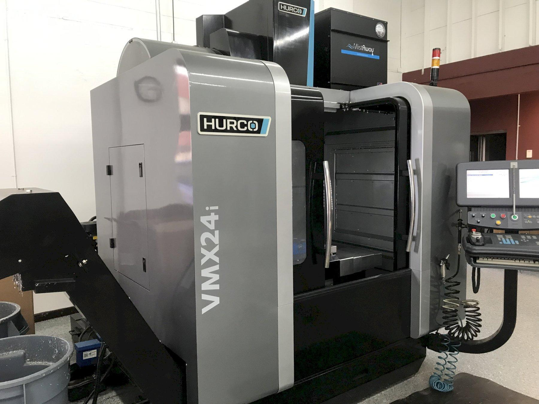 "Hurco VMX24i CNC Vertical Machining Center, Winmax, 24""/20""/24"" Travels, 12K Spinlde, CTS, 24 ATC, Chiller, Many Hurco Control Options, Low Hours, 2013"