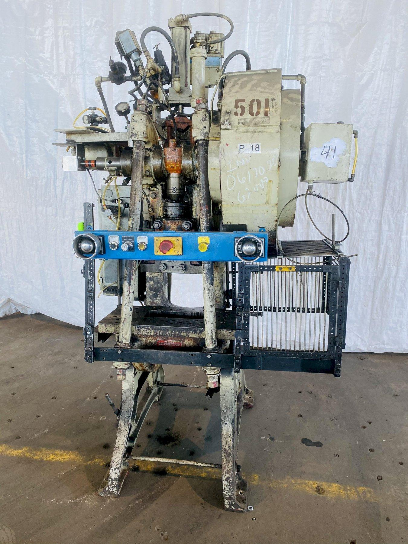 28 TON WALSH MODEL 28 OBI PRESS. STOCK # 0617020