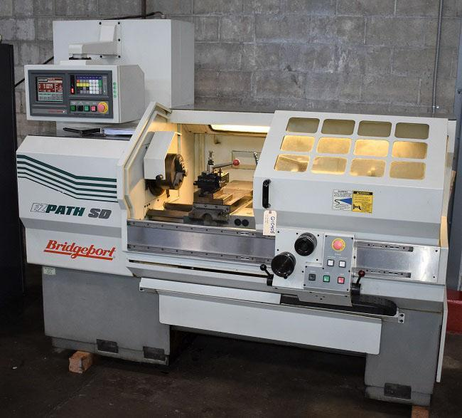 BRIDGEPORT ROMI EZ PATH SD CNC LATHE