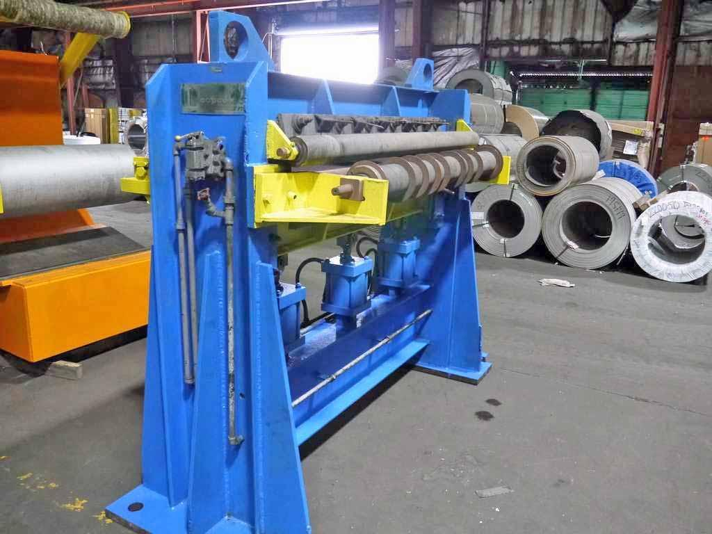 "54"" x 9.00"" x 40,000# Loopco Slitting Line"