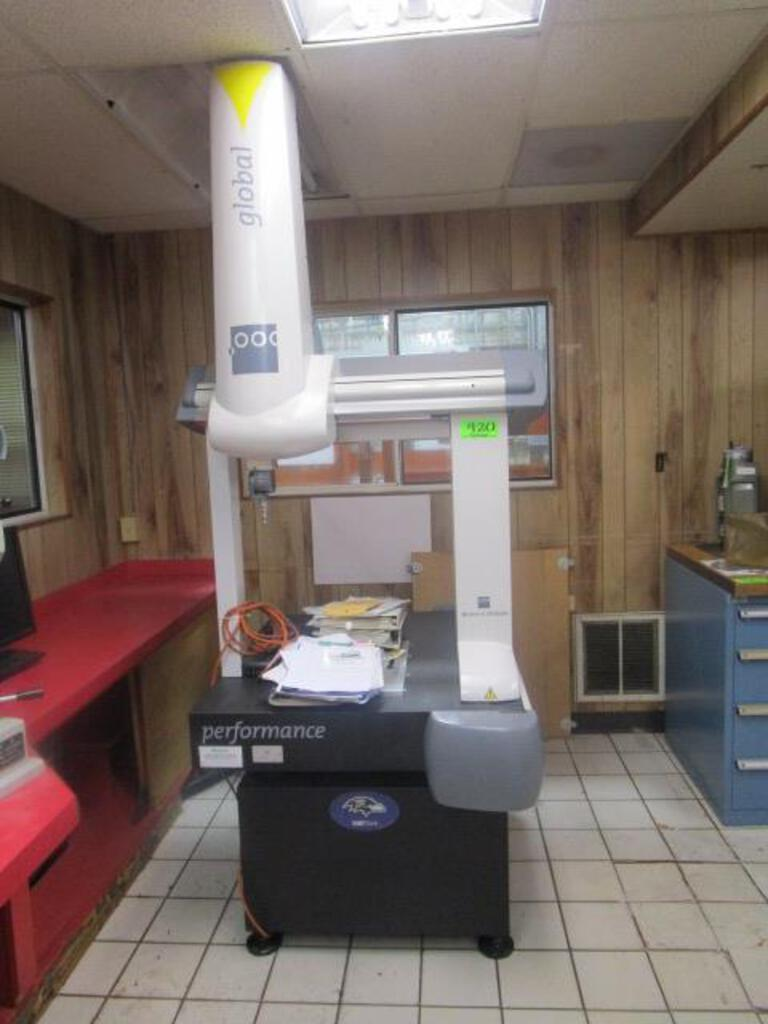 Brown & Sharpe Global Performance 5.5.5 CNC Coordinate Measuring Machine (CMM)