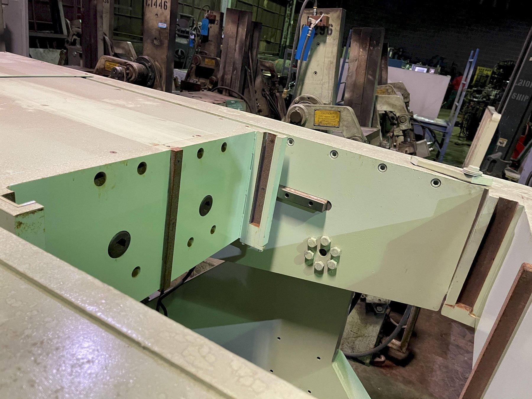 """new Hall 90 degree tilt pour permanent molding machine s/n 002000, 18"""" x 24"""" platen size, set up for quick change with 30"""" x 12"""" opening"""