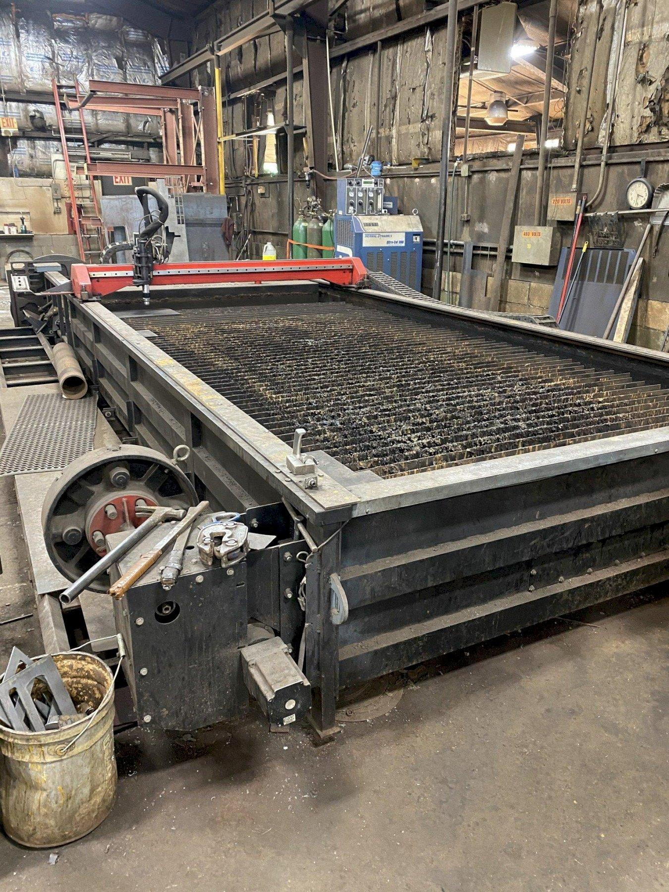 6' x 14' Torchmate Model X CNC plasma table