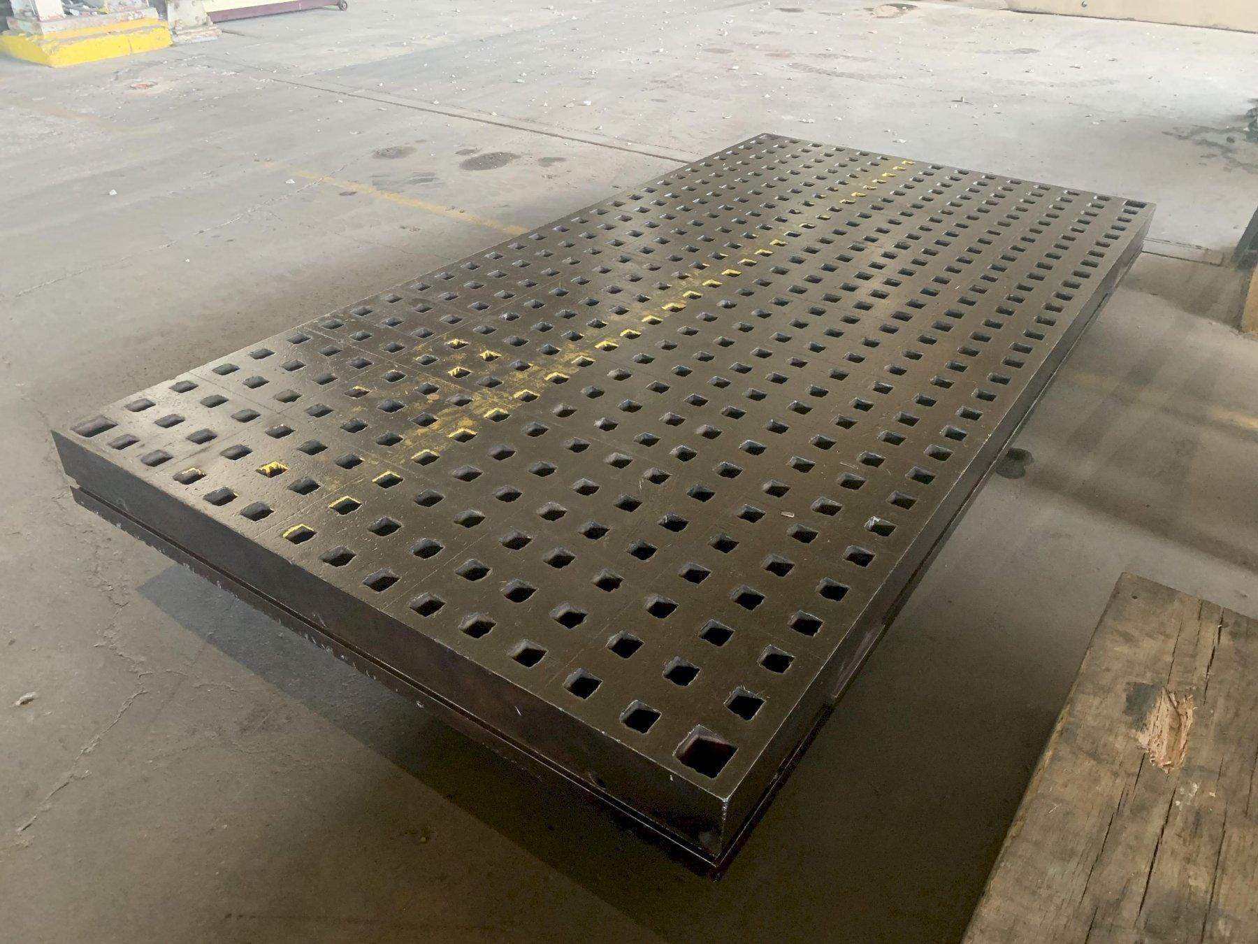 "60"" X 120"" X 6.75"" ACORN LAYOUT WELDING PLATES: STOCK 13842"