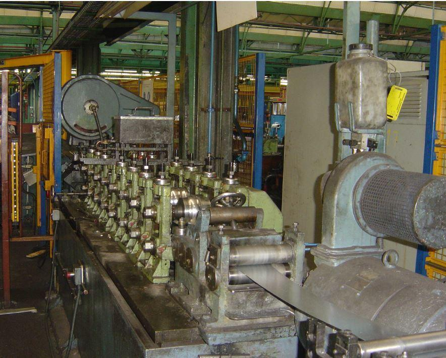 8 Stand Arrasate  P-17 Channel Rollforming Line