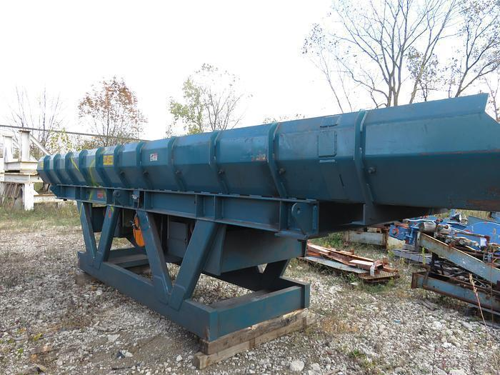 "General Kinematics model twf42/52x12x22 TWO WAY paramont II feeder s/n c10491-2A, 42/52"" x 12"" deep x 22' long"