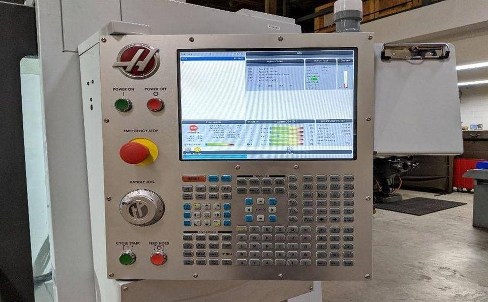 (2019) HAAS VF-4SS 5 AXIS VERTICAL MACHINING CENTER. STOCK # 0312921