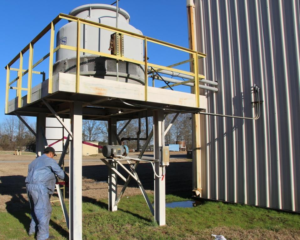 COOLING TOWER SYSTEMS MODEL #T-260 COOLING TOWER: STOCK #63765