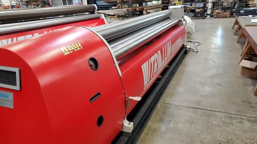 "2010 Davi CNC Hydraulic Plate Bending Roll, 12' x 5/32"" Capacity"
