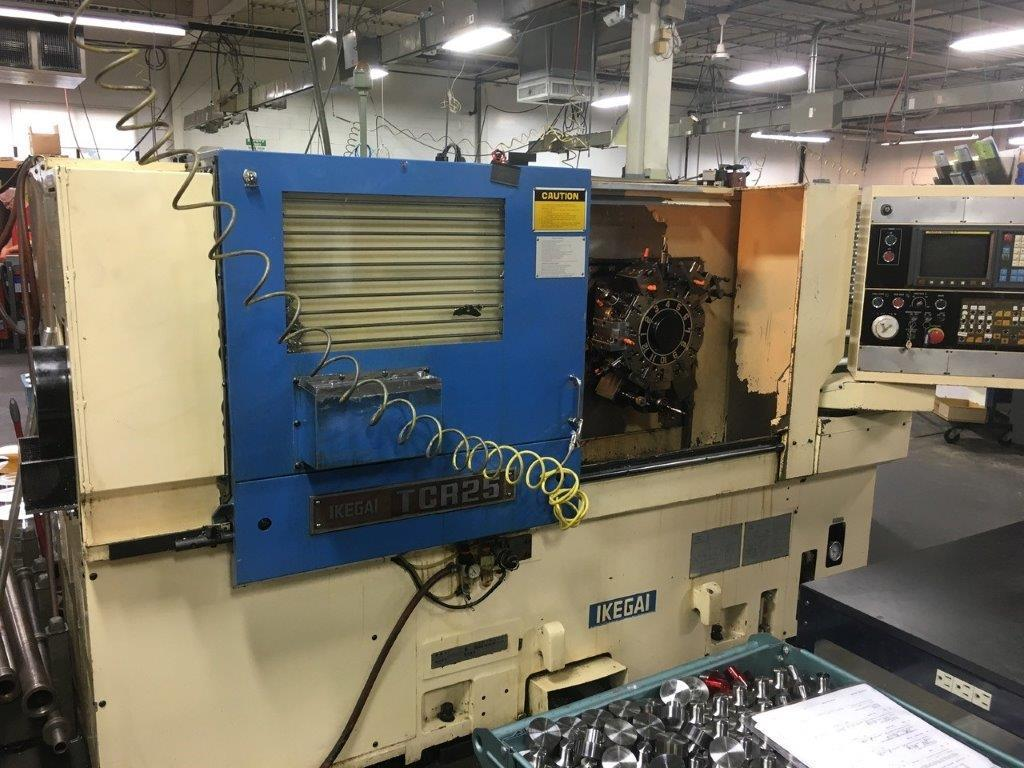 Ikegai Model TCR-25 CNC Lathe, with Live Milling