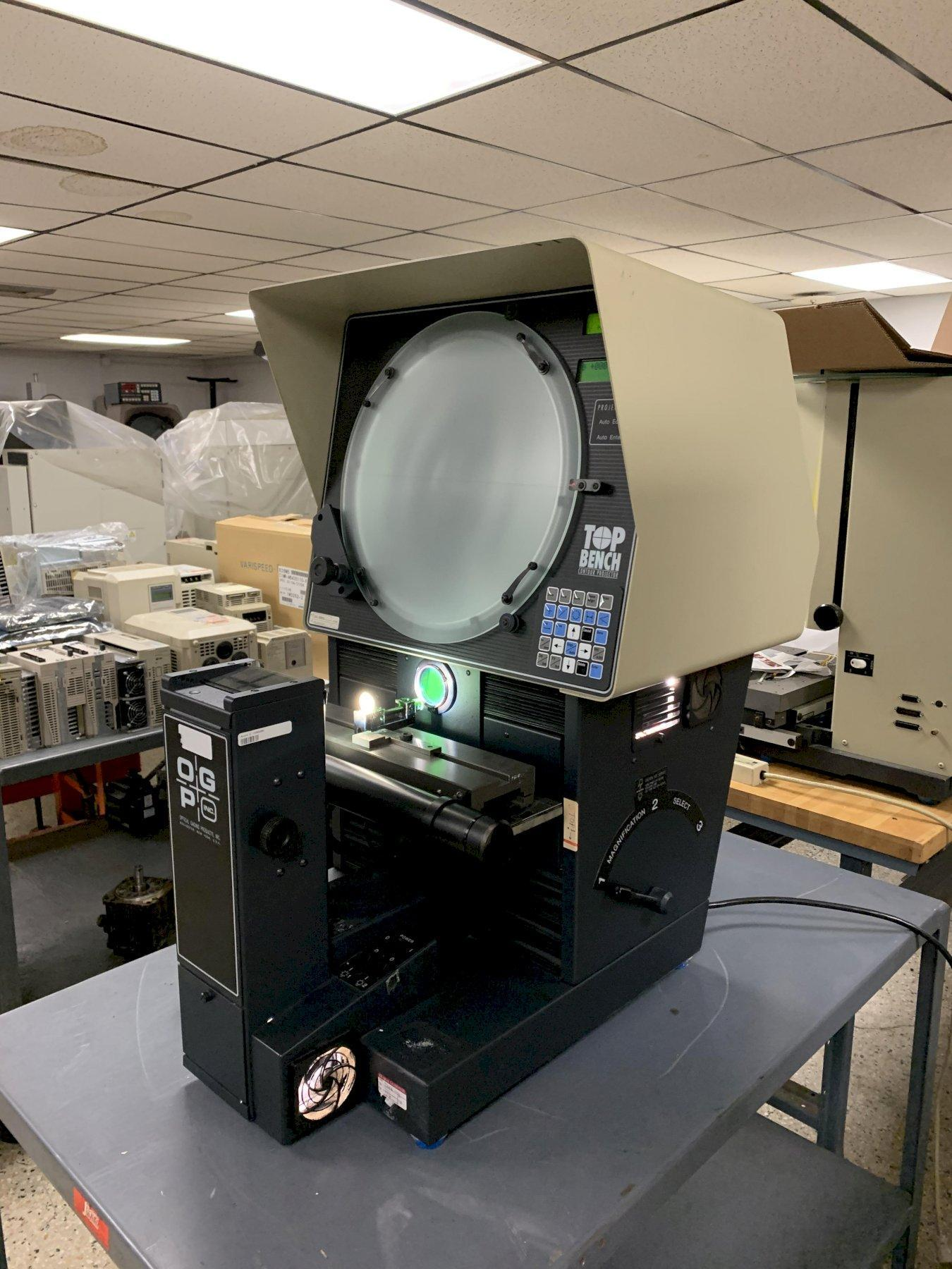 """OGP """"Top Bench"""" Optical Comparator, S/N TB12061327."""