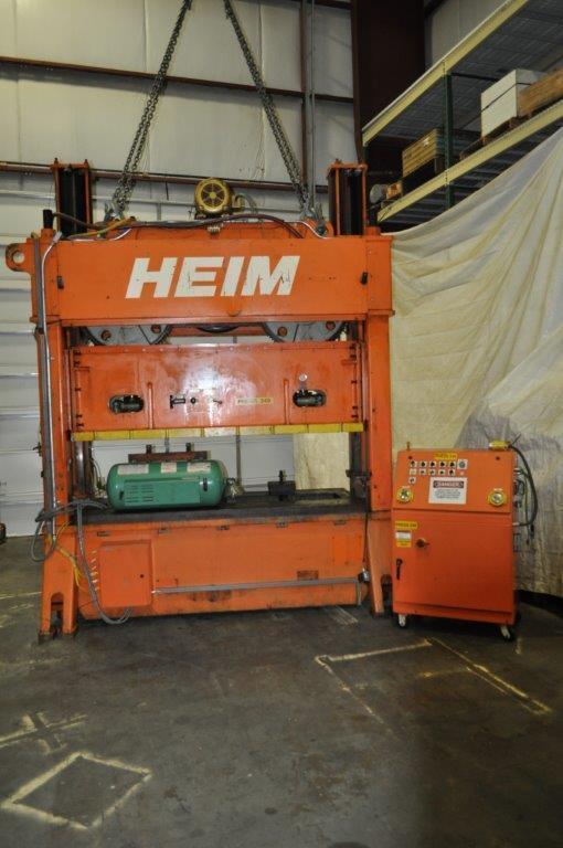 150 Ton Heim SSDC Press