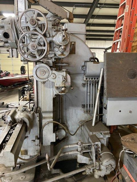 "42"" BULLARD 3 JAW VERTICAL TURRET LATHE. STOCK # 1702120"