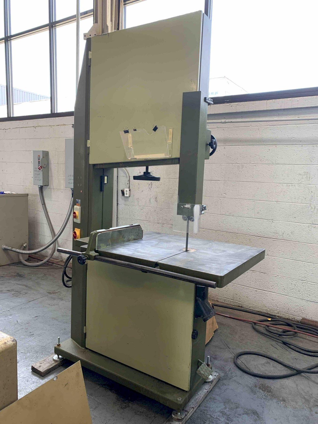 "USED MEBER 32"" VERTICAL WOODWORKING BANDSAW / RESAW, Year 1990, Stock # 10762"