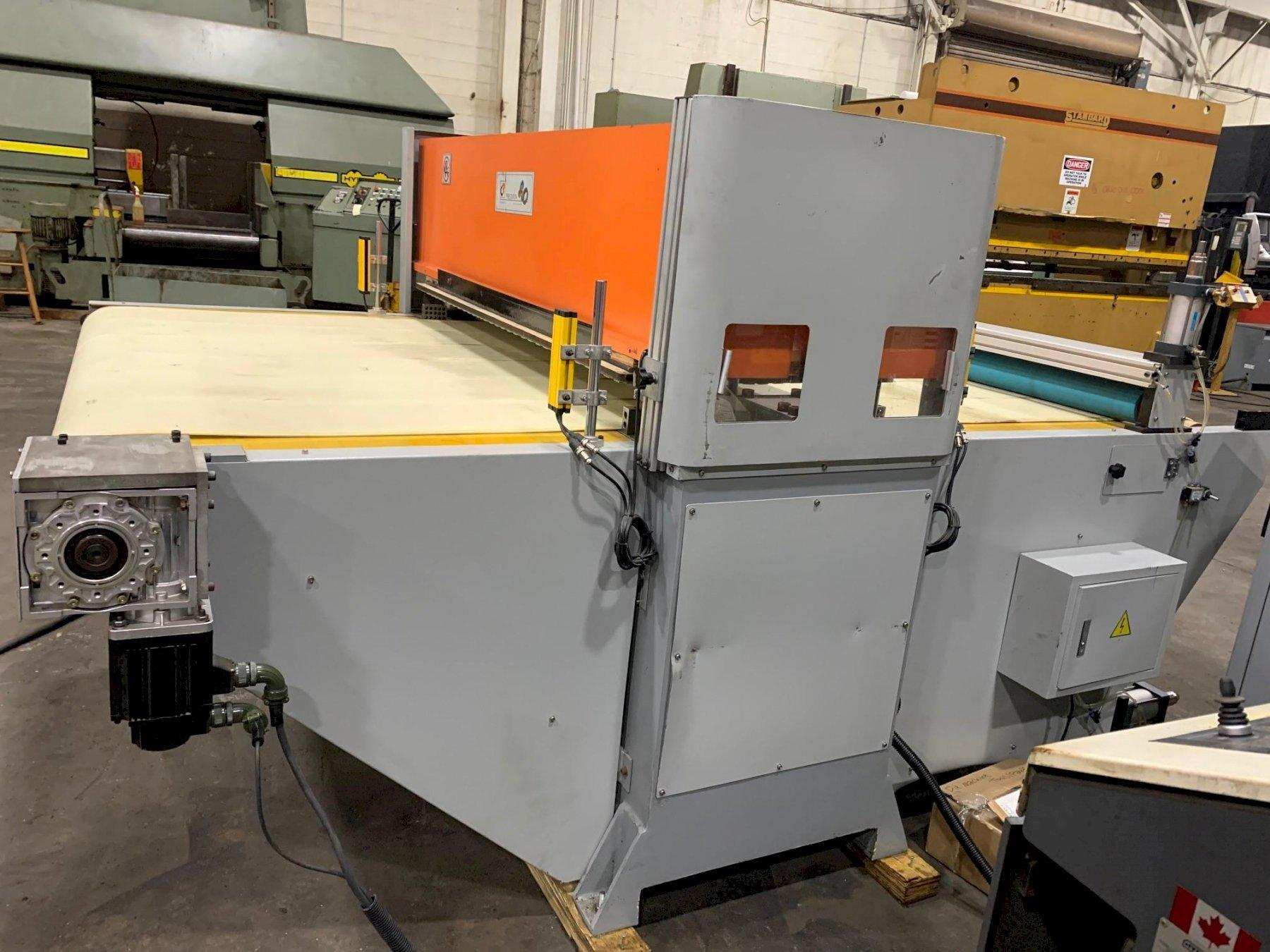 USED CJRTECH 40 TON CNC CONVEYORIZED CLICKER PRESS, Year: 2020, Stock# 10848
