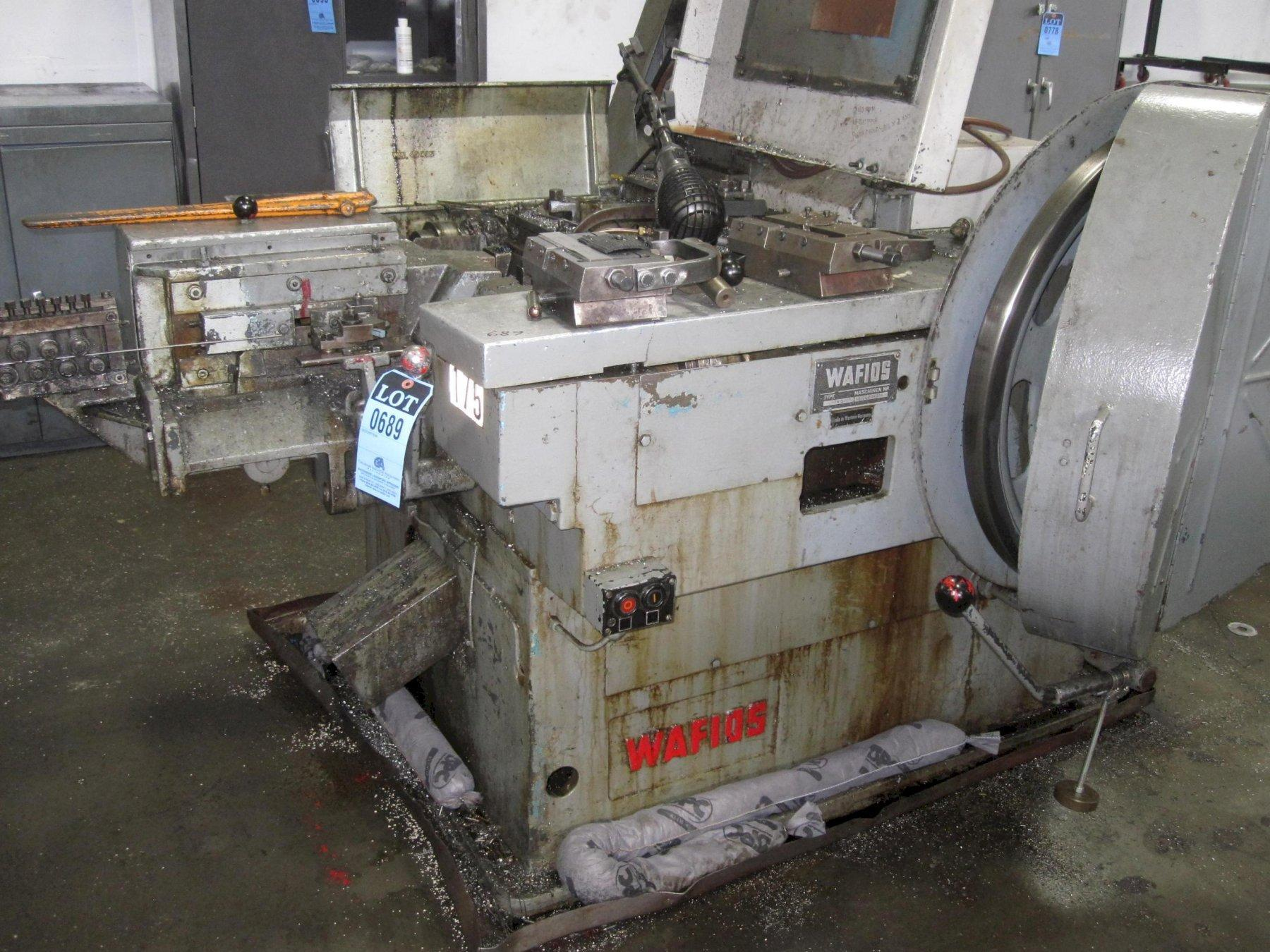 Wafios Model N5 High Speed Nail Machine