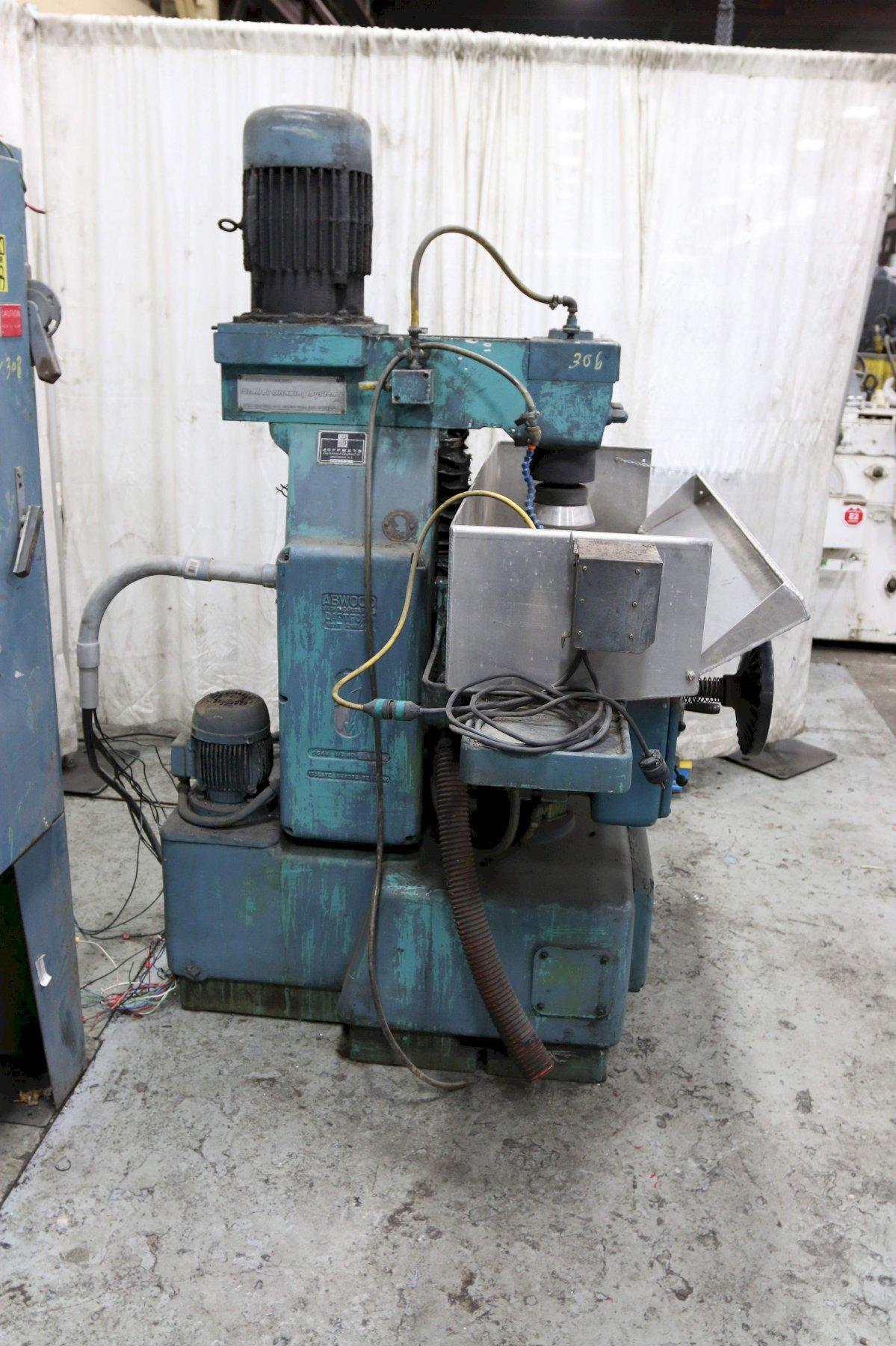 8' X 24' ABWOOD VERTICAL SPINDLE ROTARY SURFACE GRINDER: STOCK #73045