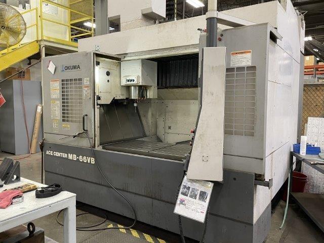 2007 Okuma Ace Center MB-66VB CNC Vertical Machining Center