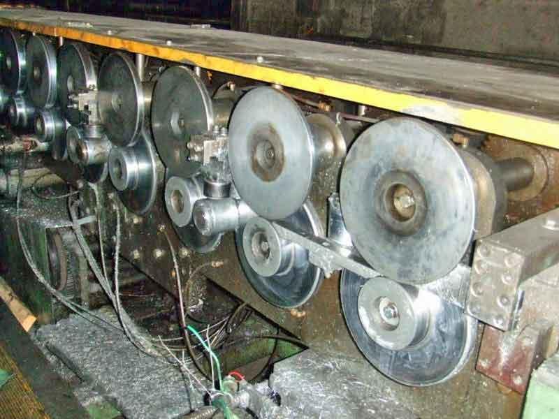 "16 Stand 55.00"" x 1.75"" Lockformer Duplex Rollformer"