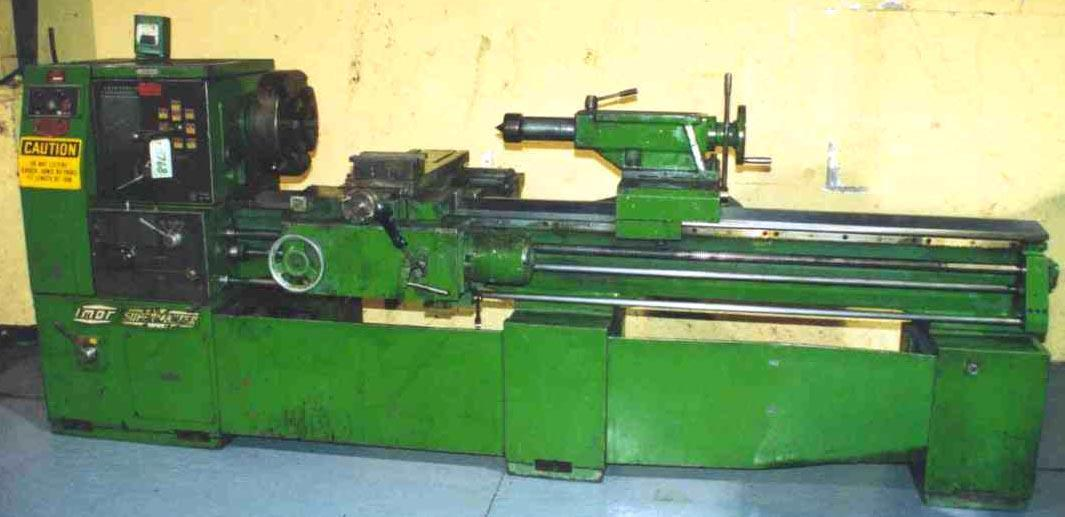 22' X 84' SUPERMASTER ENGINE LATHE:  STOCK #8768