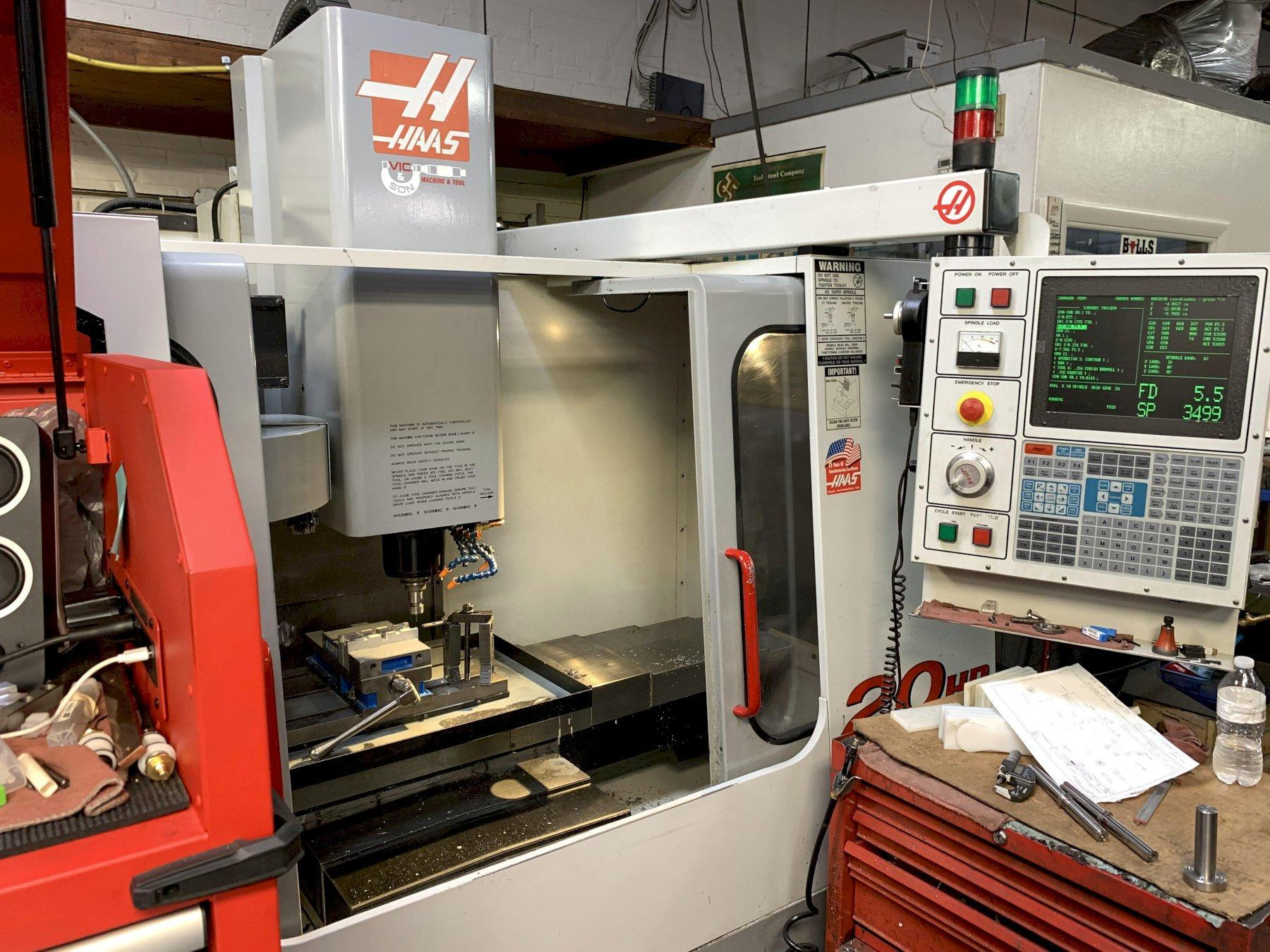 Haas VF-2/40 3-Axis CNC Vertical Machining Center