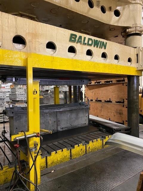 USED BALDWIN 1,500 TON 4-POST PRESS, Stock# 10876