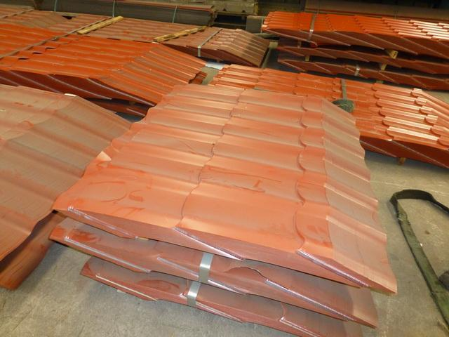 16 Stand Tile Roof Profile Formach Rollform Line