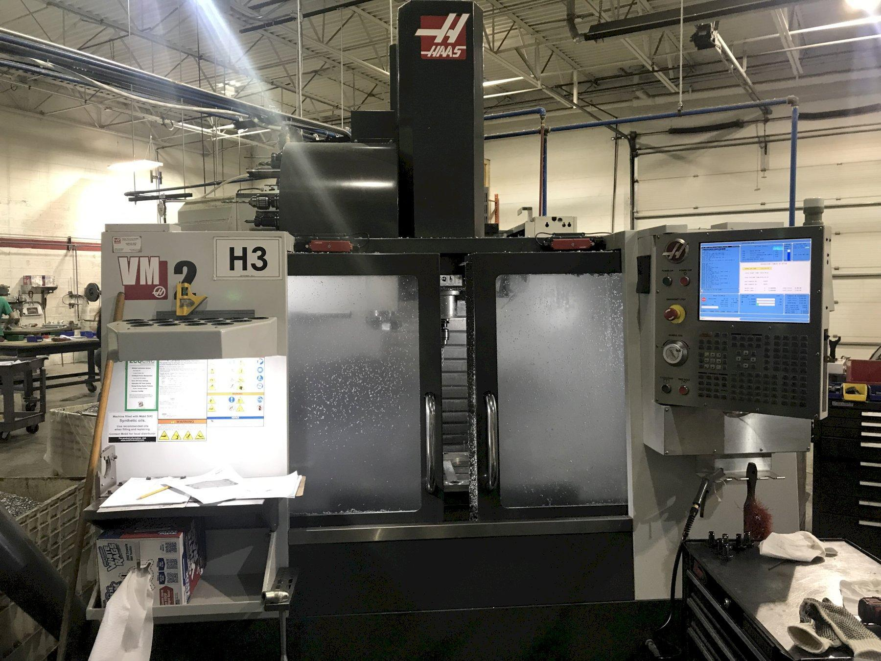 Haas VM2 (Mold Maker) CNC Vertical Machining Center