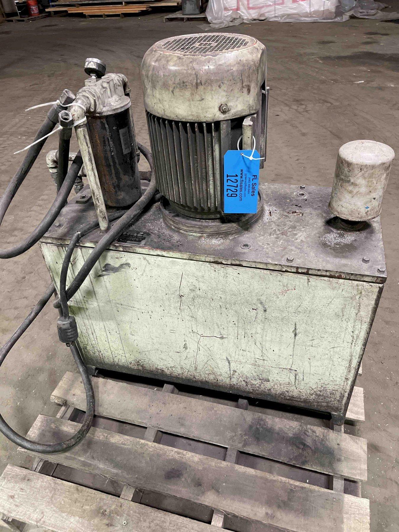 Hall 7.5 Hydraulic unit