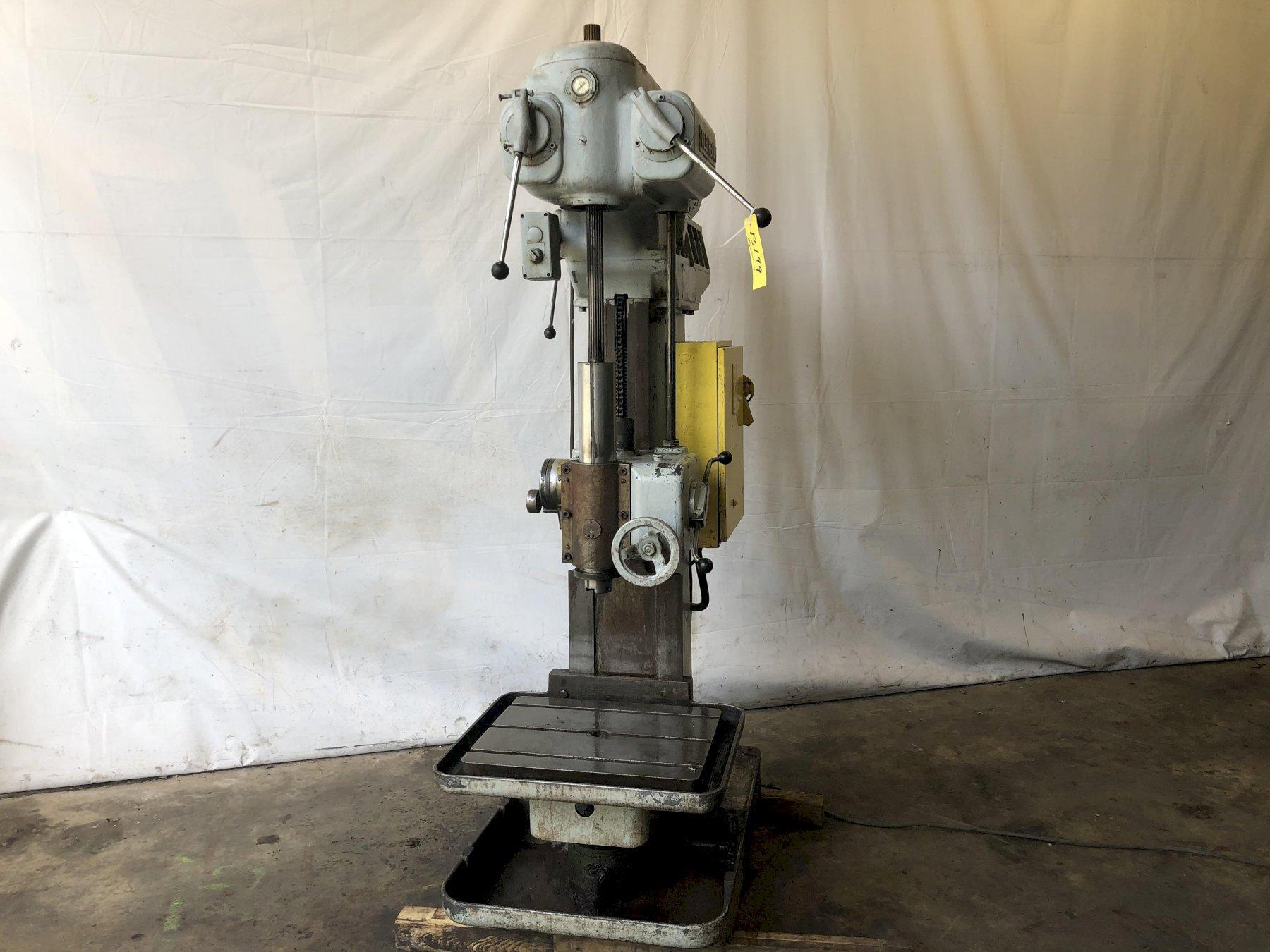 "24"" CLEEREMAN SINGLE SPINDLE DRILL: STOCK #13199"