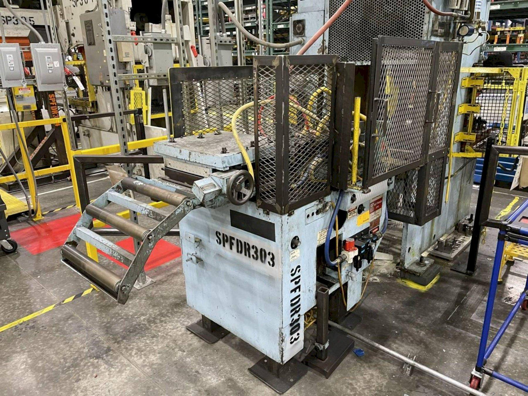 """12"""" x 12"""" Air Feed Inc Model# AF2 Air Feed and Straightener"""
