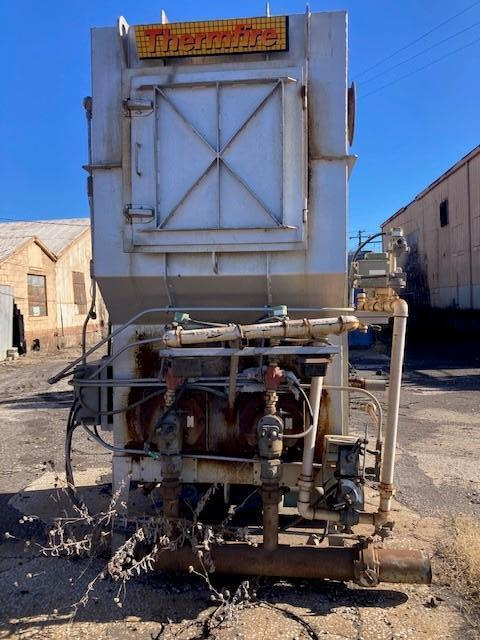 1999 GUDGEON MODEL TF2000 1 TON PER HOUR THERMAL RECLAIMER S/N 1116 WITH BLOWERS, CONTROLS AND TRANSPORTER