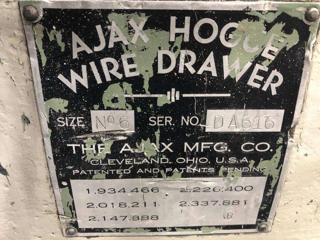 "1-1/4"" Ajax Model NO. 6 In Line Wire Drawer"