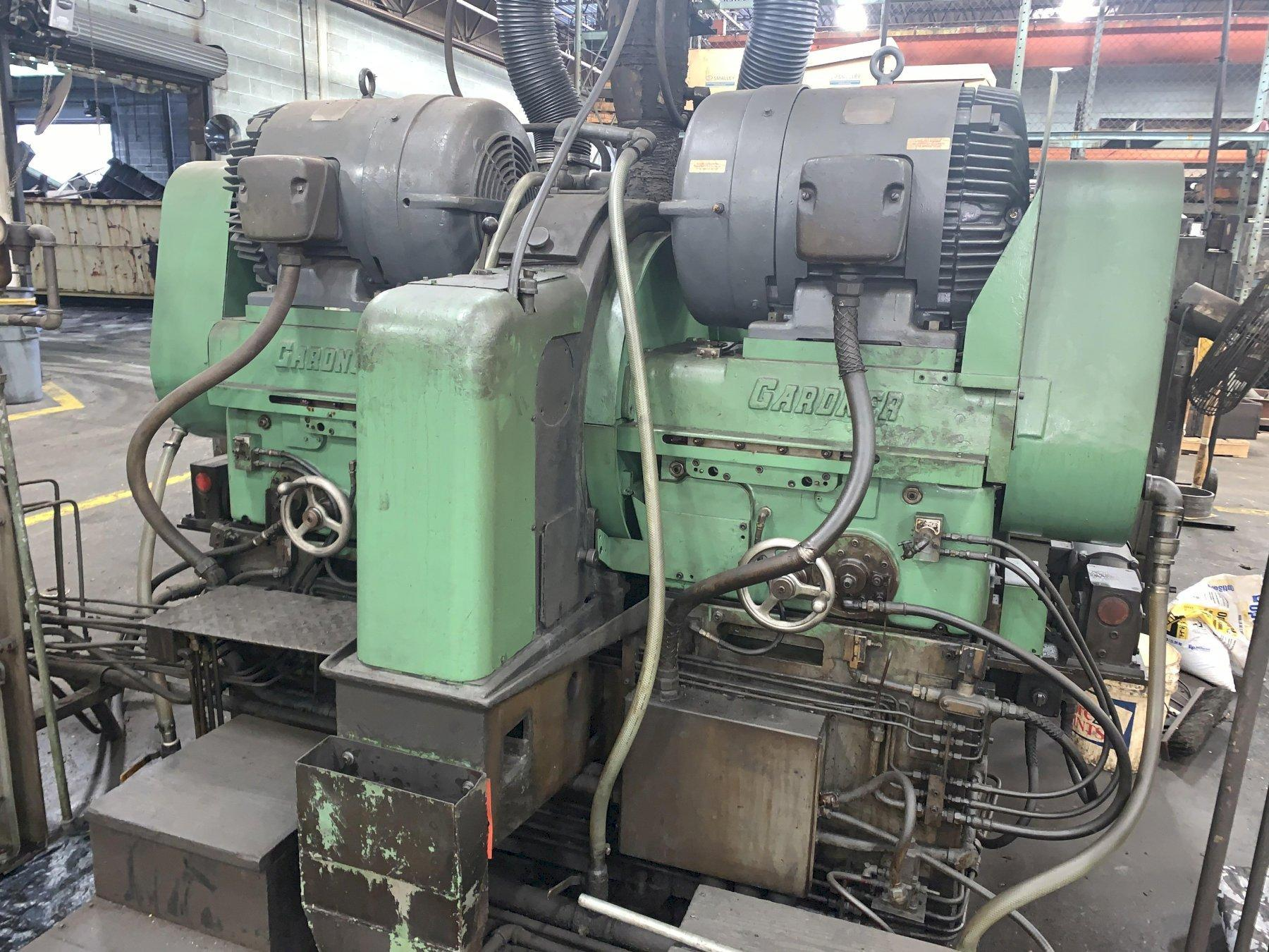 "30"" GARDNER MODEL #2H30-30 DOUBLE DISC GRINDER: STOCK #12919"