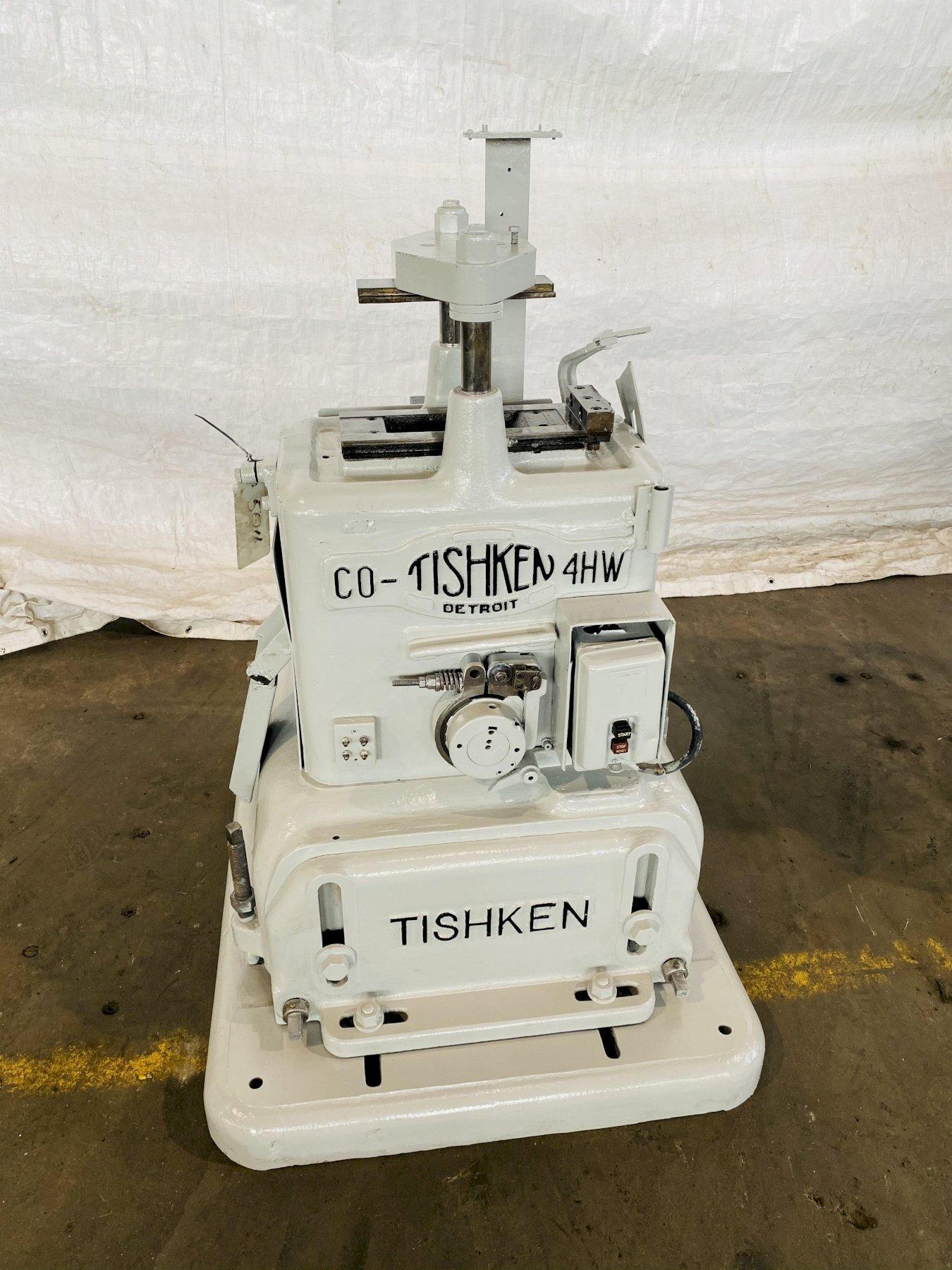 "12 TON X 2"" TISHKEN 2 POST CUT OFF PRESS. STOCK # 0106017"