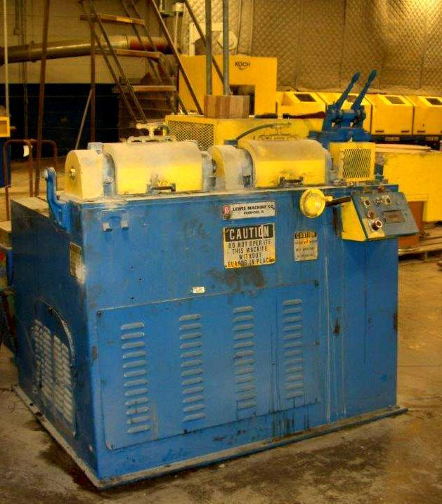 "5/16""  Lewis 2SV 32SV-DA Wire Straighten And Cut Machine"