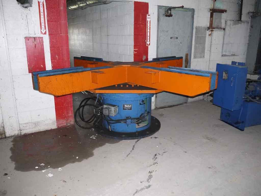 "20,000# x 36"" Coil Tech 4 Arm Turnstile"