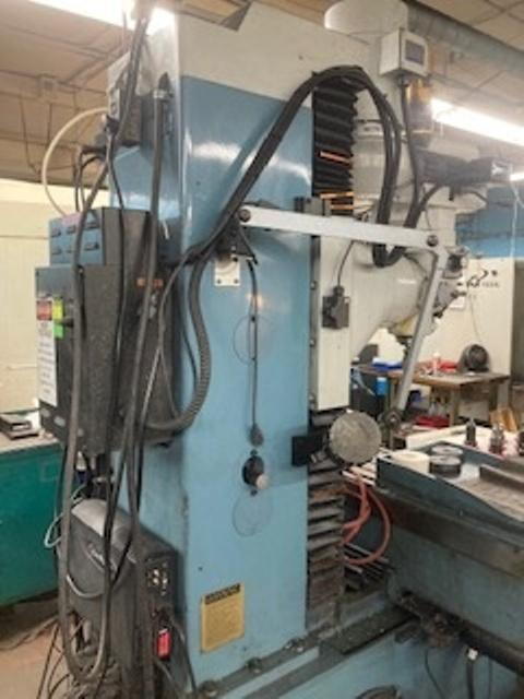 Southwestern Industries DPM SX5P CNC Bed Mill (2012)             Programmable Spindle
