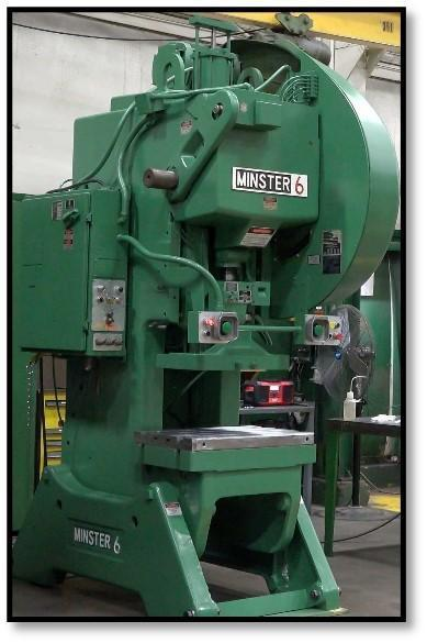 Minster #6 Super Stock Open Back Inclinable Press Factory Certified